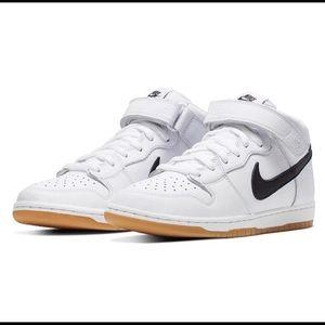 """Nike SB Dunk Mid Pro ISO Orange Label """"White"""""""